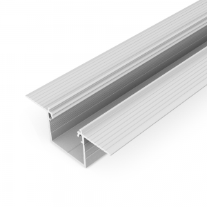 Profil aluminiowy LED LINEA-IN20 TRIMLESS surowy - 3mb