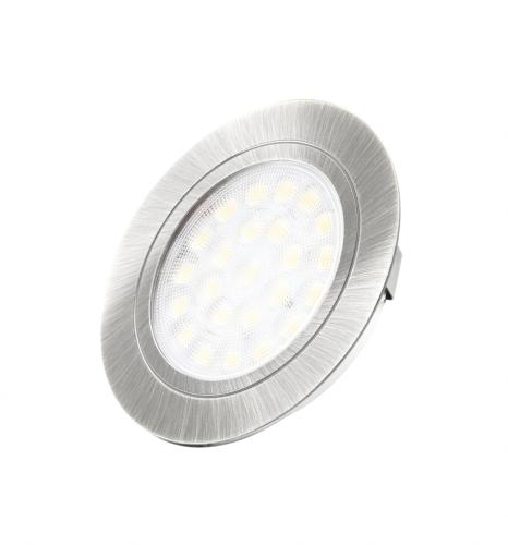 Oświetlenie punktowepodszafkowe LED, neutralna barwa światła, zasilacz w komplecie