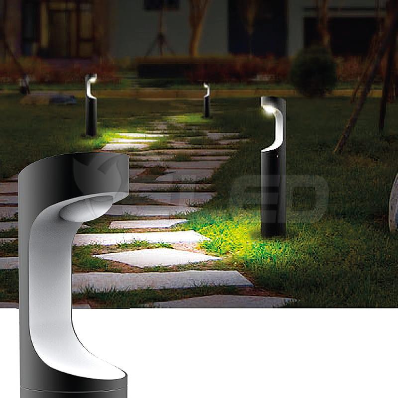 Lampa Ogrodowa Stojąca Led Picum 9w 3000k 230v Stop Aluminium