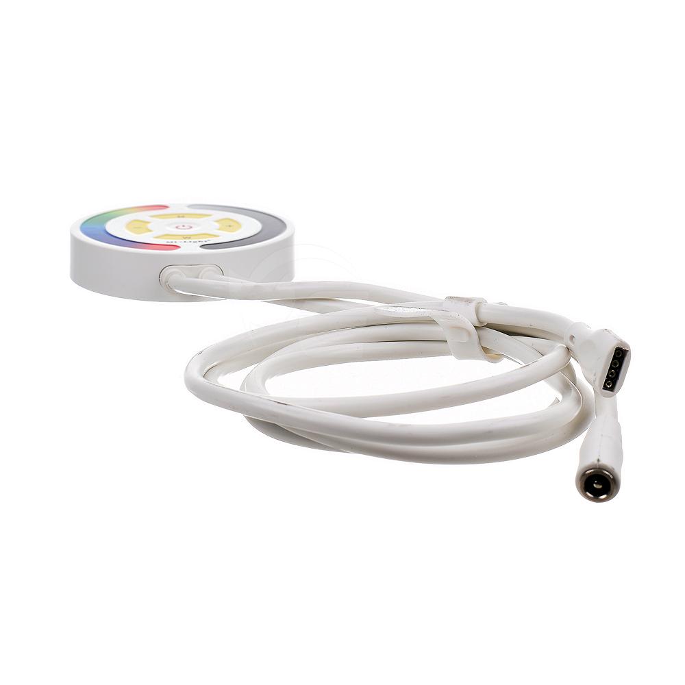 Sterownik LED naścienny (WiFi) - RGB - 1 strefowy - 12-24V DC 5A - Alexa -  FUTYL1